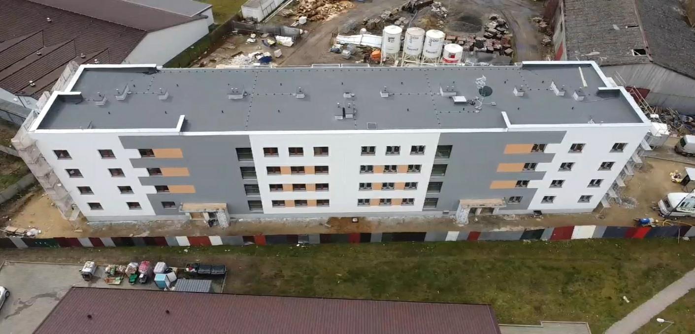 <strong>Budowa budynku</strong><br /> wielorodzinnego, Ośno Lubuskie, ul Kościuszki